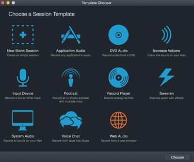 Hijack Pro Interfaz grabar audio en mac
